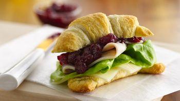 Cranberry-Turkey Sandwiches (Crowd Size)