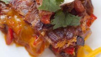 Bacon Weave Quesadilla