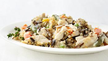 Turkey and Wild Rice Casserole