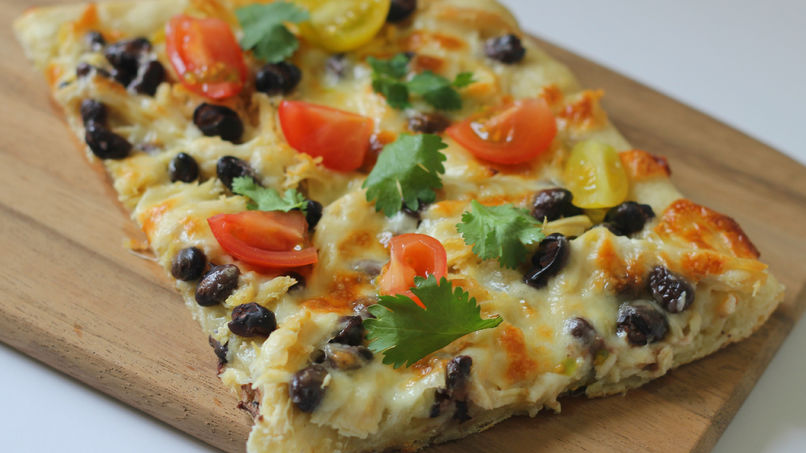 Chicken Enchilada Pizza