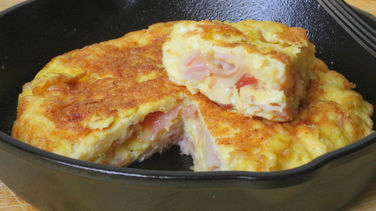 Ham, Egg and Bacon Omelet