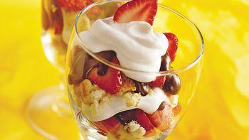 Neapolitan Shortcake Parfaits