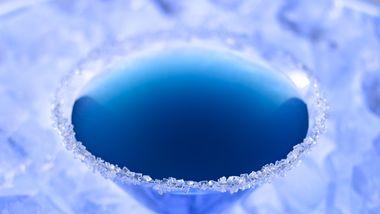Royal Blue Cocktail