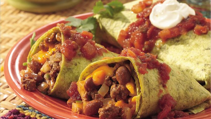 Tex-Mex Burritos