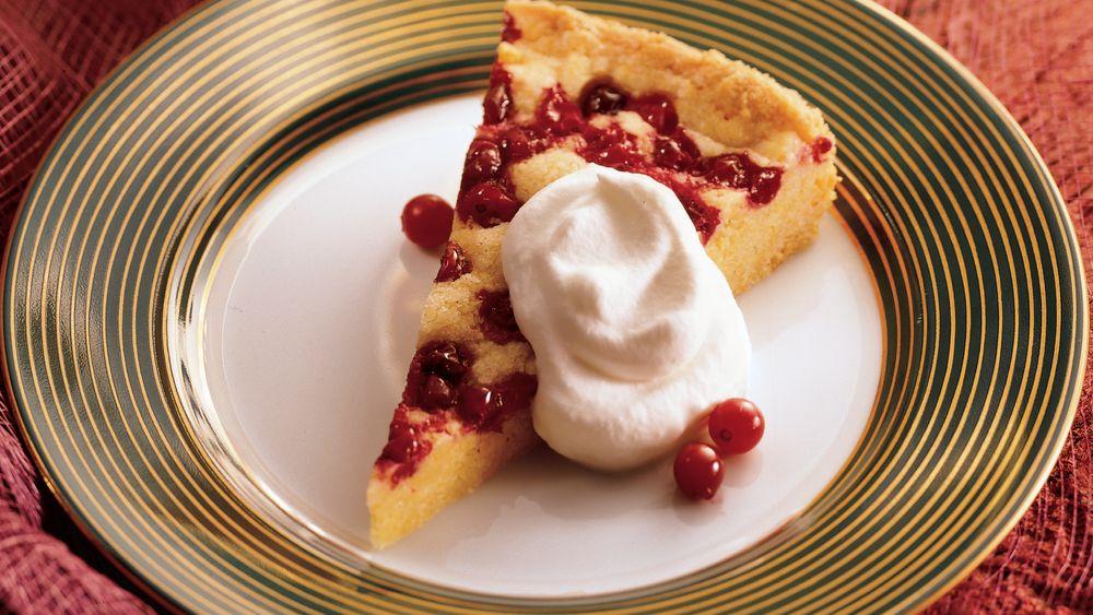 Cranberry Cornmeal Torte