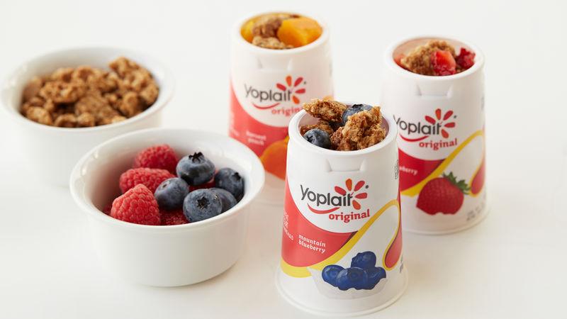 Blueberry Cobbler Yogurt Cup