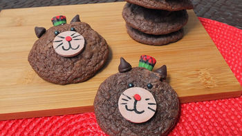 Kwanzaa Cat Cookies