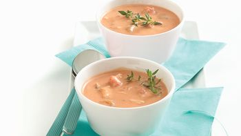 Zesty Tomato-Crab Bisque