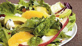 Basil and Blue Cheese Salad
