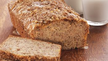 Coffee-Crunch Banana Bread