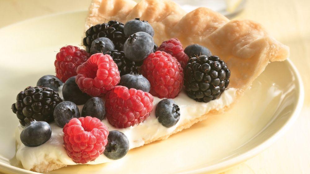 Easy Berry Fruit Tart