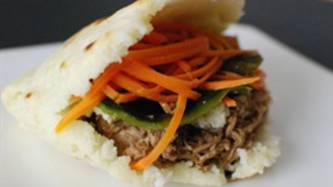 Shredded Pork Arepa