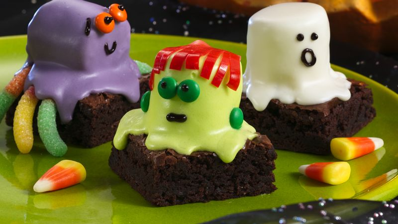 Spooky Brownies