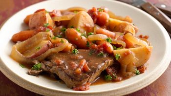 Slow-Cooker Swiss Steak Supper