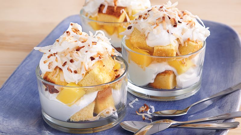 Mango-Coconut Parfaits