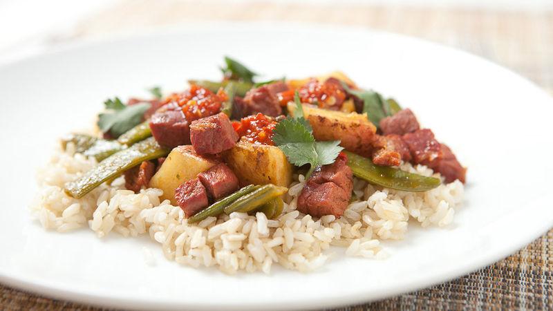Corned Beef Stir-Fry