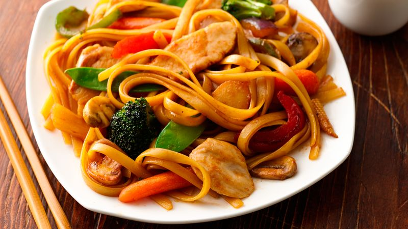 Shanghai Chicken and Noodles