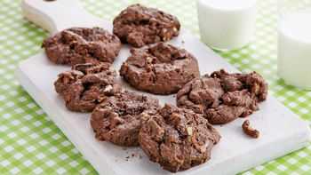 Cake Mix Chocolate Toffee Cookies