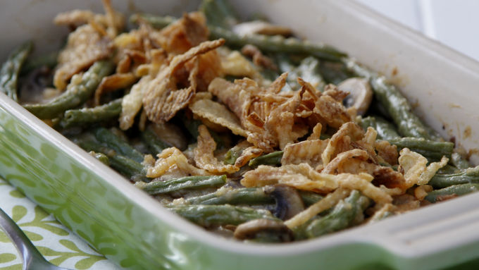Fantastically Fresh Green Bean Casserole