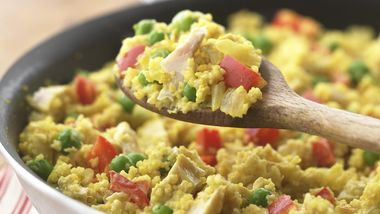 Skinny Chicken Curry with Couscous