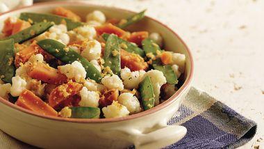 Crunchy Lemon-Pepper Vegetables