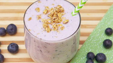 Blueberry and Yogurt Smoothie