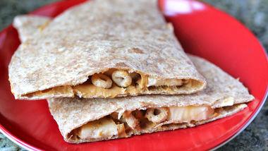Cheerios®-Banana Quesadillas