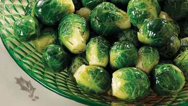 Honey-Mustard Dilled Brussels Sprouts