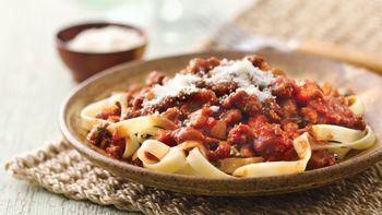 Fettuccine with Italian Tomato Sauce