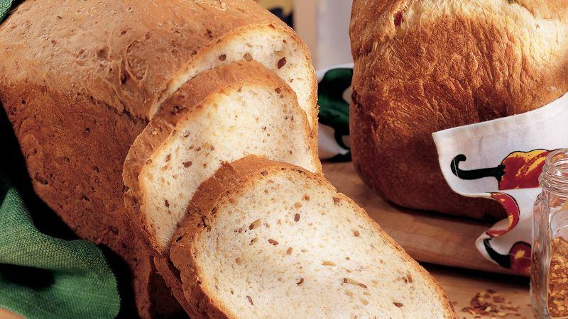 Bread Machine Oatmeal-Sunflower Bread