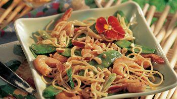 Peanutty Shrimp Stir-Fry