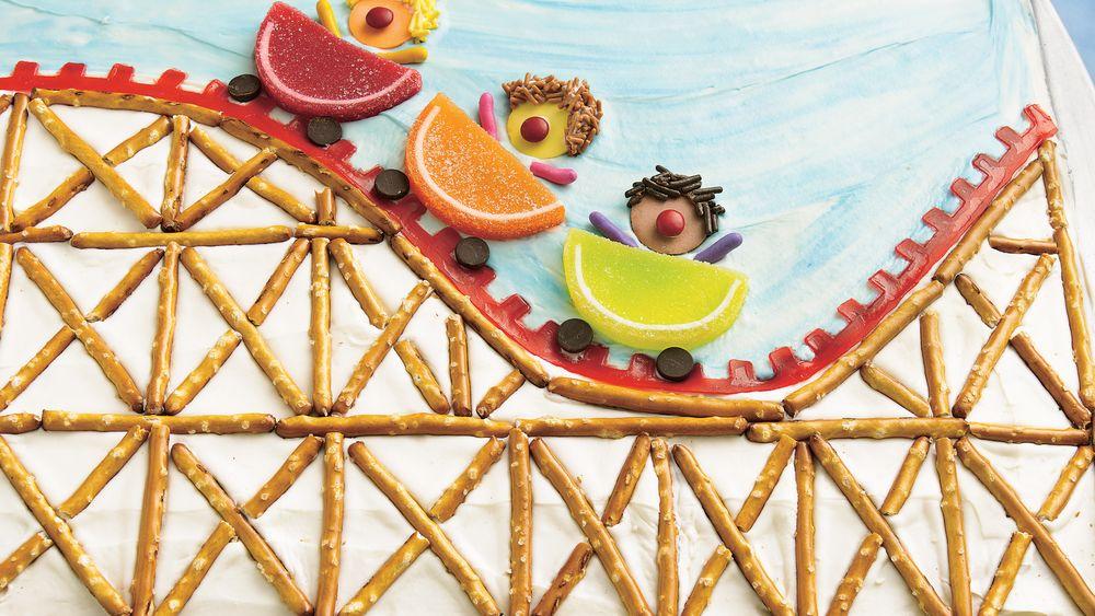 Roller Coaster Cake Recipe From Pillsbury Com