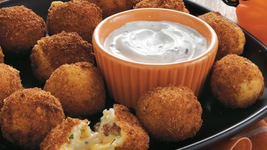 Cheesy Potato Bites with Ranch Dip