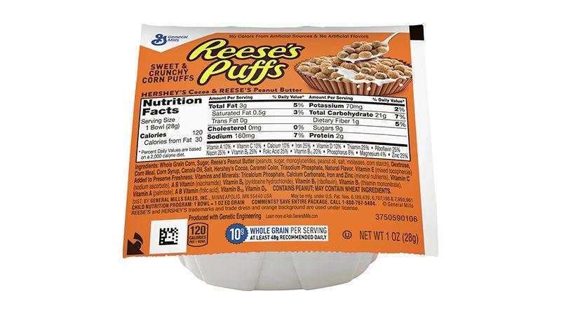Puffs Cereal Single Serve Bowlpak 1 oz