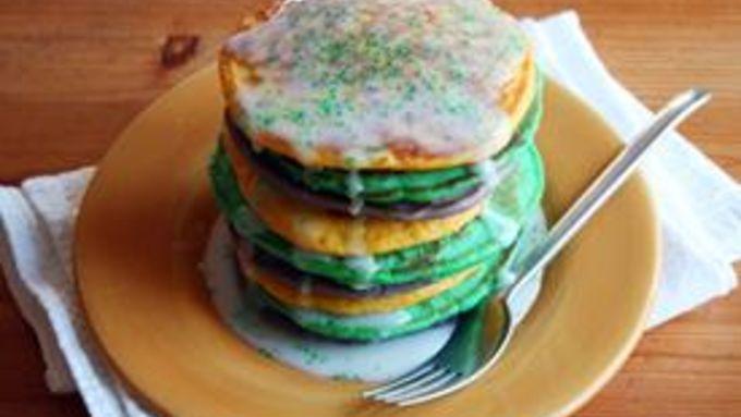 King Cake Pancakes