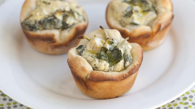 Spinach-Artichoke Mini Bites recipe - from Tablespoon!