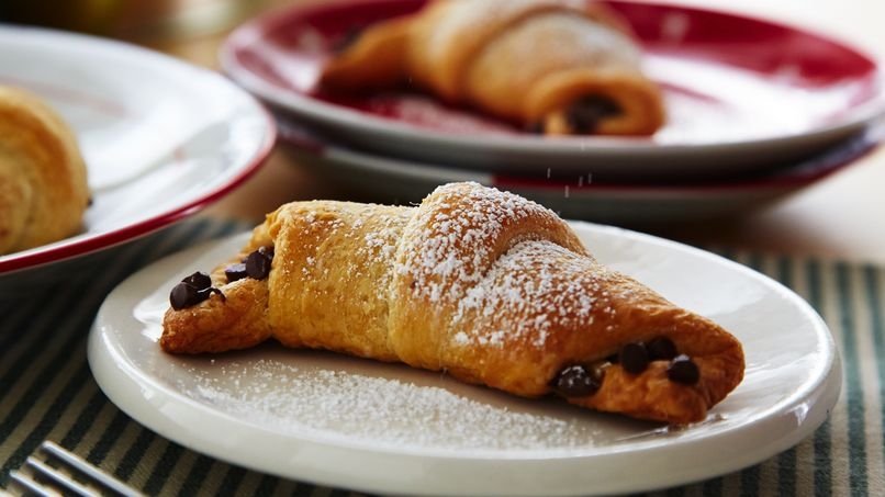 Chocolate-Filled Crescents