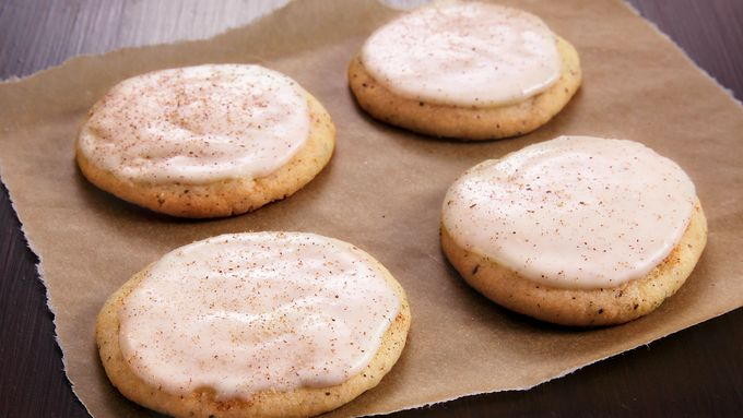 Chai Tea Eggnog Cookies