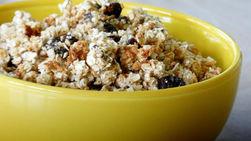 Granola Crocante con Frutas, Nueces y Palomitas de Maíz