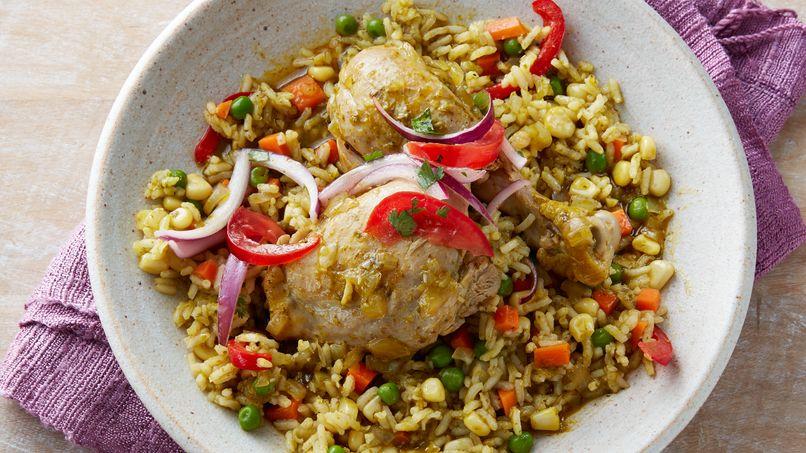 Peruvian Arroz con Pollo: Chicken and Rice