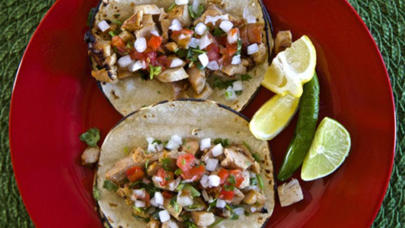 Tacos de Pollo, Lima y Limón