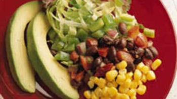Layered Mexican Salad