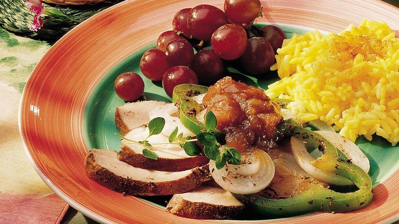 Grilled Jamaican Turkey