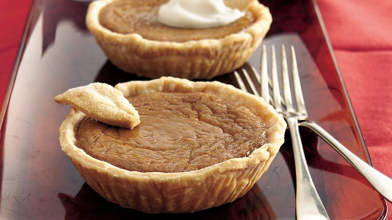 Brown Sugar-Sweet Potato Tarts