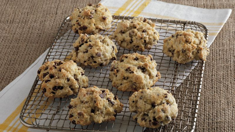 Banana-Chocolate Chip Biscuits