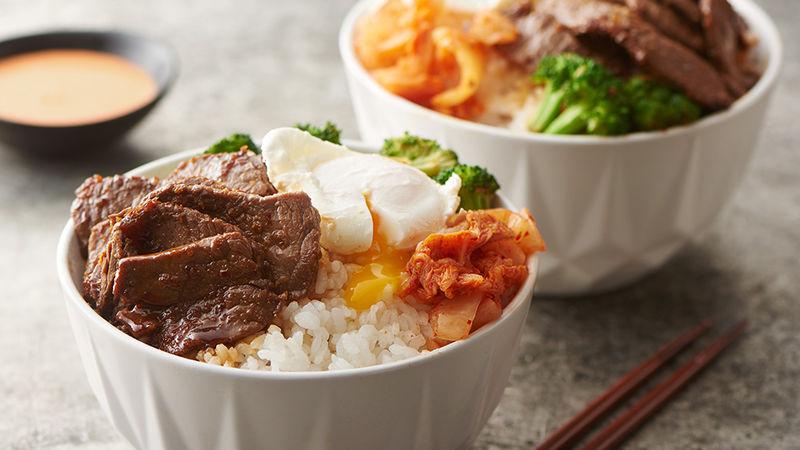 Korean Beef Yum Yum Bowls