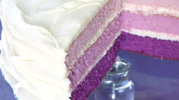 Purple-rific Layer Cake
