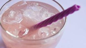 Lavender Colored Lemonade