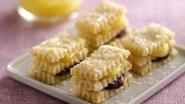 Cream Wafer Lemon Stacks