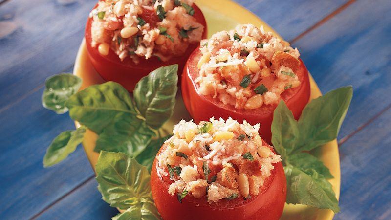 Pesto-Stuffed Tomatoes